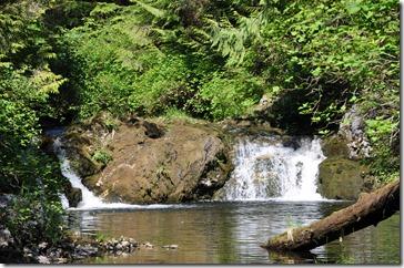 Photo of Alaskan waterfall